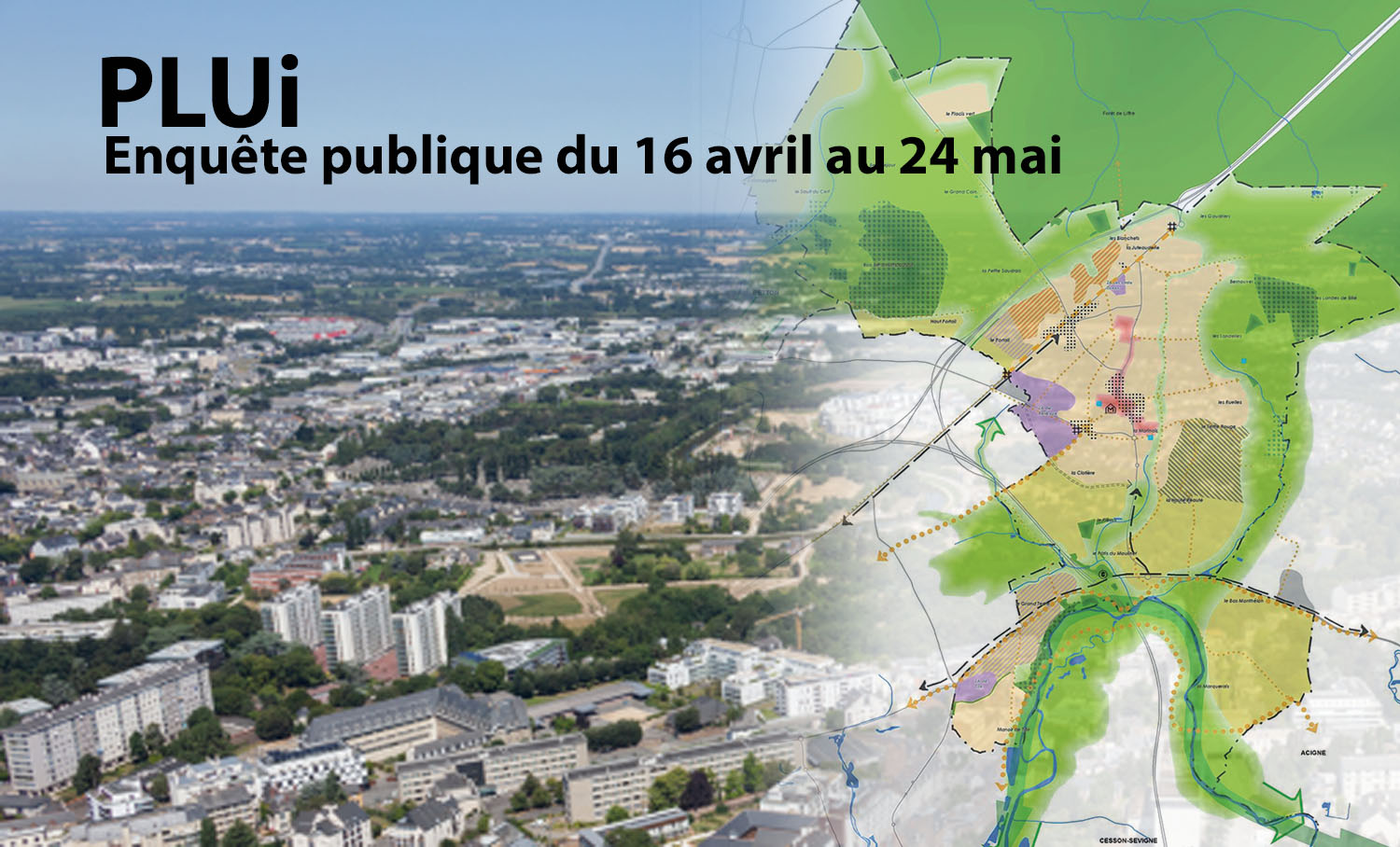 Enquête publique Plan local d'urbanisme intercommunal (PLUi)